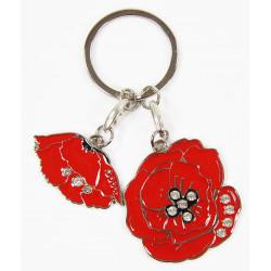 Key Chain, Charms, Poppy