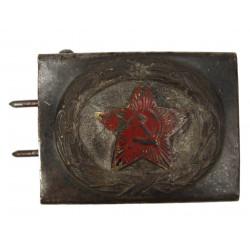 Boucle de ceinturon Luftwaffe, modifiée étoile soviétique