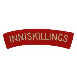 Shoulder Title, Inniskillings, Dunkirk