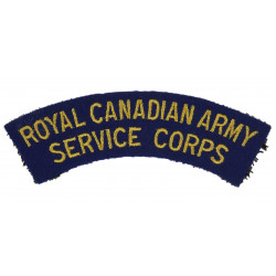 Title, Royal Canadian Army Service Corps