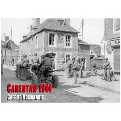 Poster, Café de Normandie, Carentan 1944