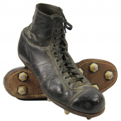 Shoes, Pair, Football, Leather, Wilson