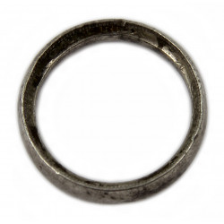 Ring, Handcrafted, 1 Florin, British, 1935, Normandy