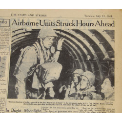 Journal Stars and Stripes, 13 juillet 1943