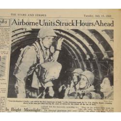 Newspaper Stars and Stripes, July 13,1943