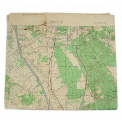 Map, Holland invasion, Airborne, Goresbeek, 82nd