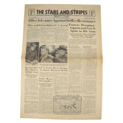 Journal Stars and Stripes, 16 juillet 1943