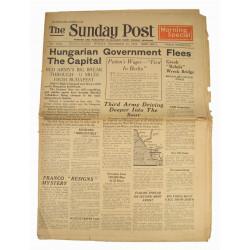 Journal, The Sunday Post, 10 décembre 1944