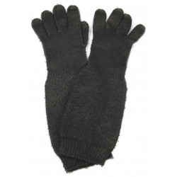 Gloves, wool, blue, USN, gas impregnated