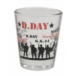 Verre à liqueur, 6 juin 1944
