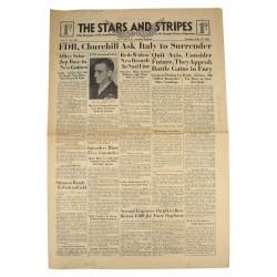 Journal Stars and Stripes, 17 juillet 1943