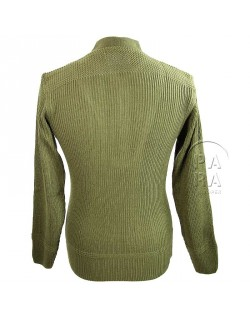 Sweater, High neck, Wool, 5 buttons