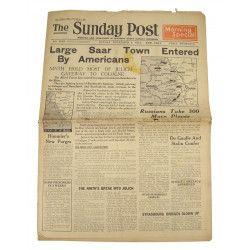 Newspaper, The Sunday Post, December 3, 1944
