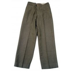 Trousers, Wool, Serge, OD, Special, 31 x 31