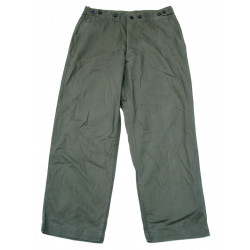 Trousers, HBT, M-1942, US Army, 36 x 32