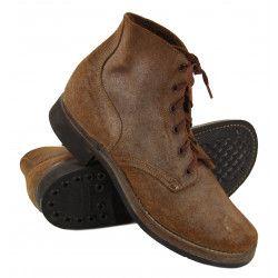 Shoes, Combat, Roughout, 1943
