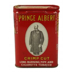 Box, American Tobacco, Prince Albert