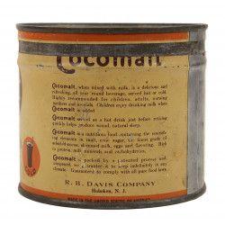 Tin Can, Powdered Chocolate, Cocomalt
