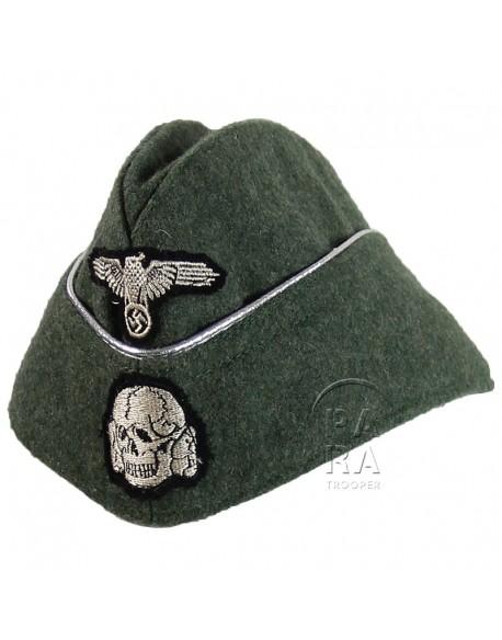 Calot feldgrau officier Waffen SS