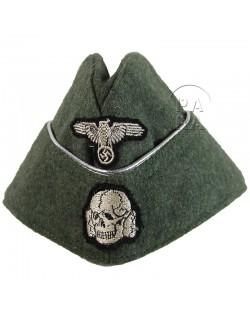 Cap, Waffen SS officer, feldgrau
