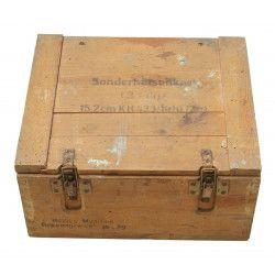 Crate, Sonderhülsenkart. 15,2 cm KH.433, 1943, Normandy
