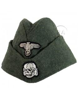 Cap, Field, Waffen SS, feldgrau