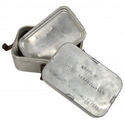 Morphine Container, Wehrmacht, Named, Normandy