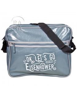 Bag, Messenger, Eisenhower, blue