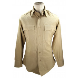 Shirt, Cotton, Khaki (chino), Officer