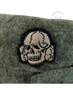 Cap, M-1943, feldgrau, Waffen SS