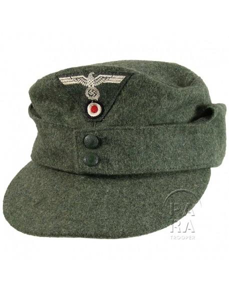 Casquette M-1943, feldgrau, Wehrmacht