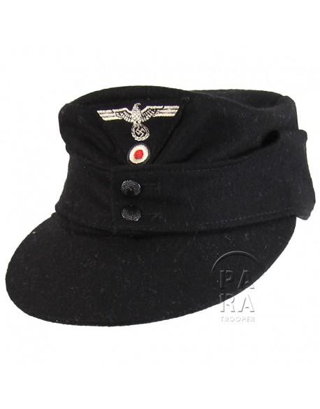 Cap, M-1943, Black, Panzer