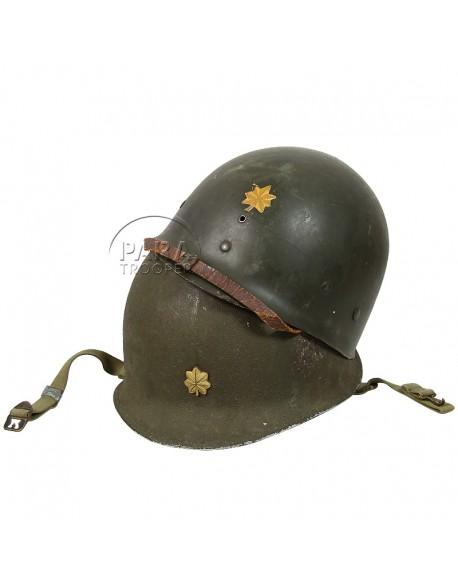 Helmet, M1, Major A. F. Strelhow