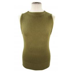 Pull en laine, sans manches, taille 38, 1942