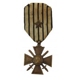 Medal, Croix de guerre, Vichy, 1939-1940
