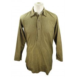 Shirt, Flannel, enlisted men's, British, 1944