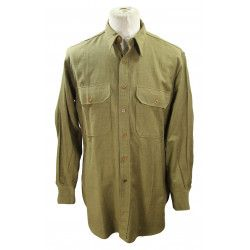 Shirt, Wool, Officer, 1943