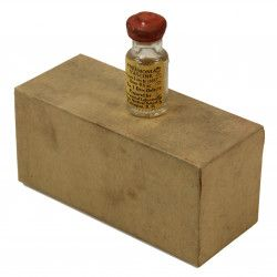 Bottle, Vaccine, U.S. Army, with box, 1942