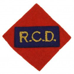 Shoulder Flash, Royal Canadian Dragoons, 1st Canadian Corps