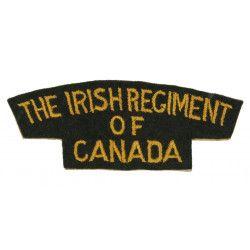 Title, The Irish Regiment of Canada