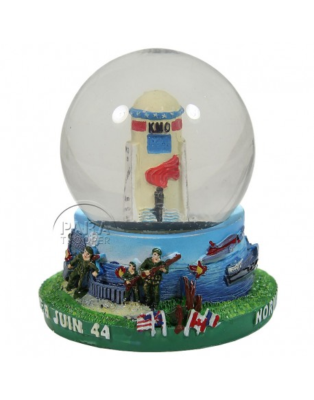 Snow globe, Borne of the Liberty, large