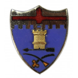 Crest, 11th Inf. Rgt., 5th Infantry Division, Vanguard, New York