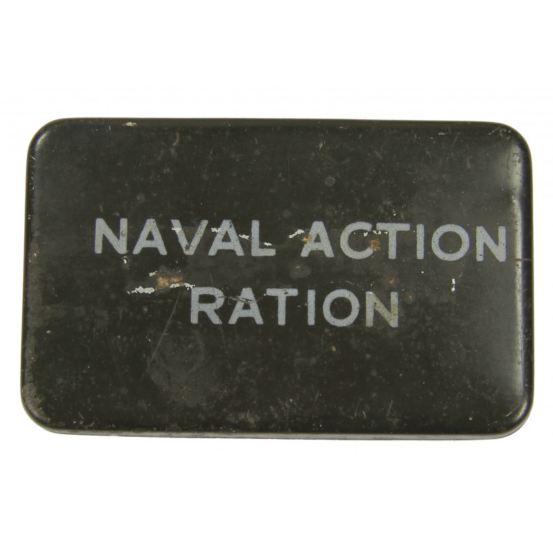 Tin, Naval Action Ration, 1943