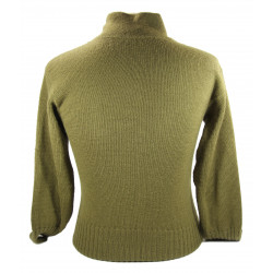 Sweater, High Neck, Wool, Small