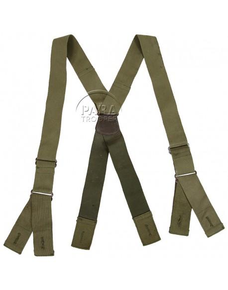 Bretelles pantalon parachutiste, M-1942