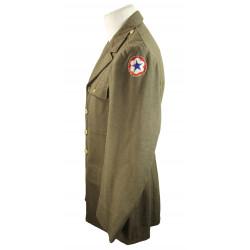 Coat, Wool, Serge, OD, 40R, 1942