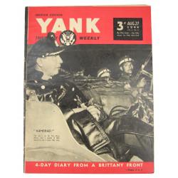 Magazine Yank, 27 août 1944