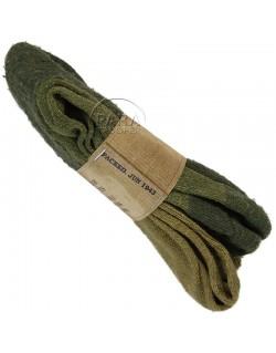 Chaussettes US, en laine, 1943