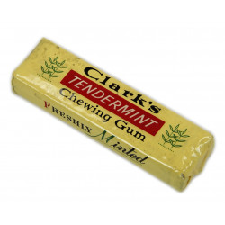Chewing-gum, Clark's, Tendermint, pack