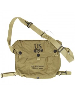 Lightweight gas mask bag